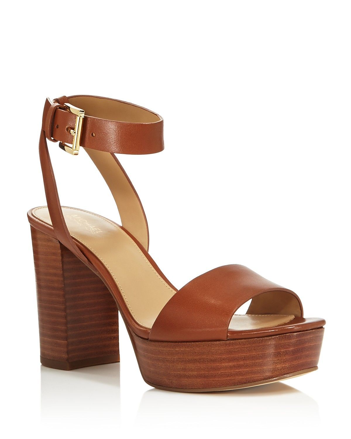 MICHAEL Michael Kors Leonora Open Toe Platform Sandals - 100% Bloomingdale's Exclusive