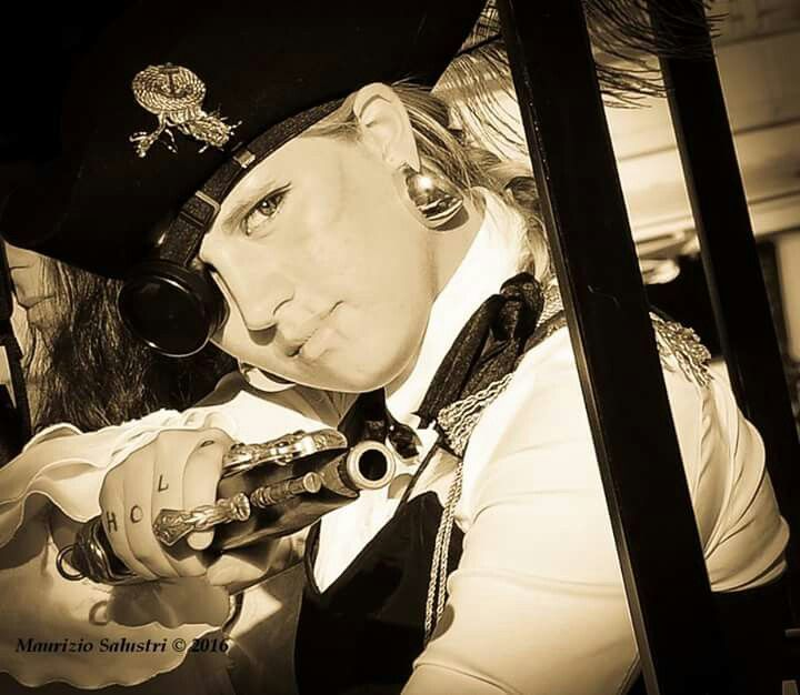 Pirate steampunk - cosplay!!!