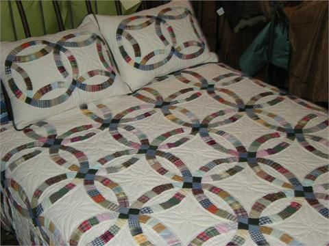 country wedding ring quilt - Wedding Ring Quilts For Sale