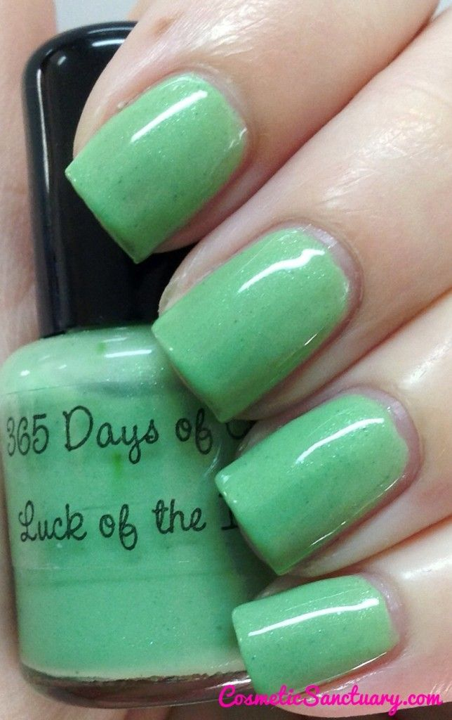 365 Days of Color Luck of the Irish | Toes and Fingers | Pinterest