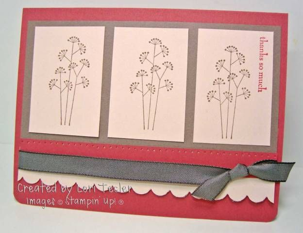 CC180-Blushing Silhouettes by ltecler - Cards and Paper Crafts at Splitcoaststampers