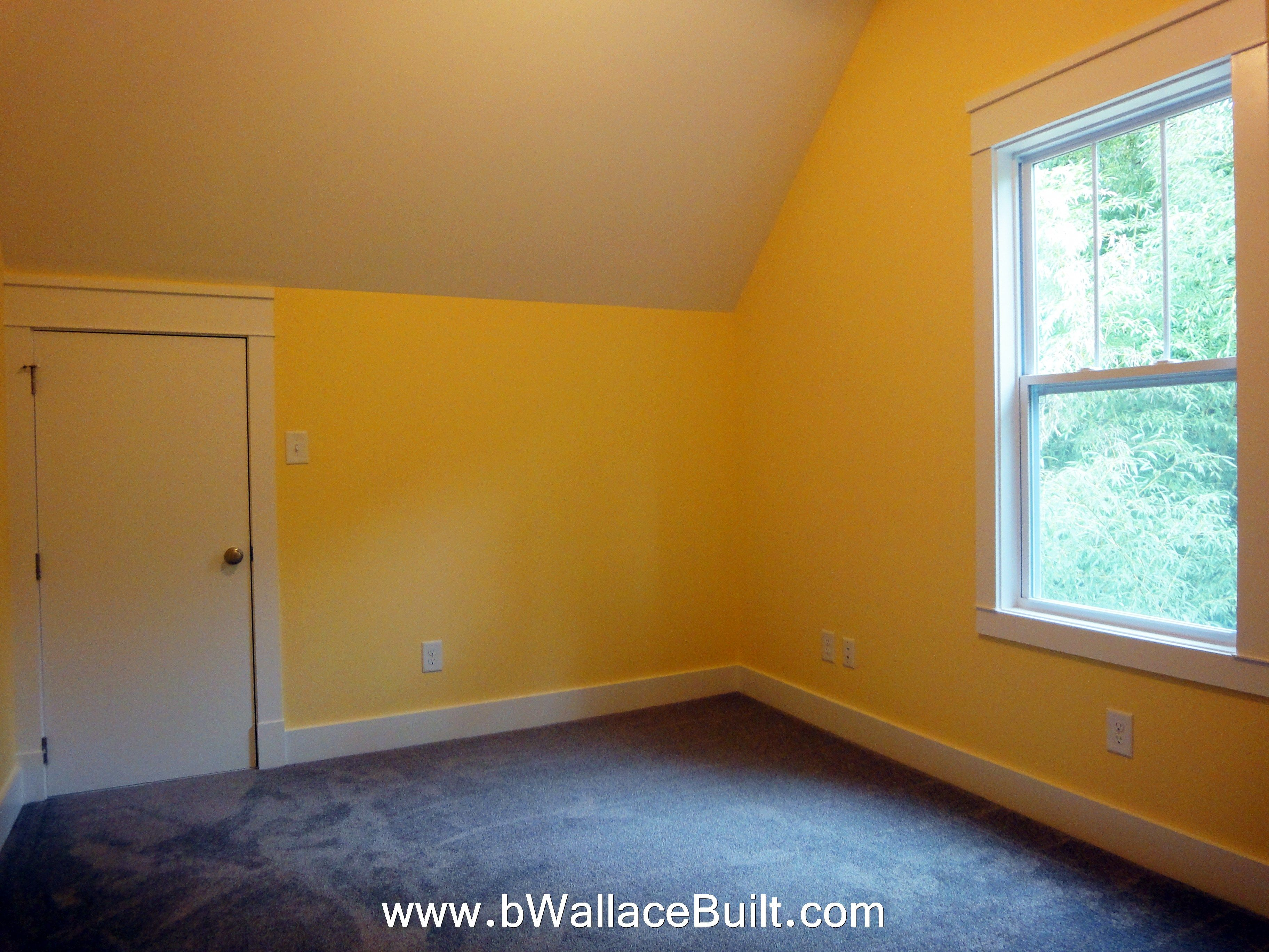 medium resolution of bonus room with access door to attic space