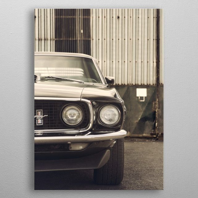 CLASSIC FORD MUSTANG By Ivo Ivanov