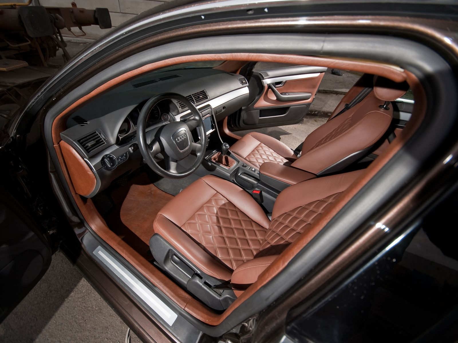 quilted leather seats google search auto interiors pinterest audi and audi a4. Black Bedroom Furniture Sets. Home Design Ideas
