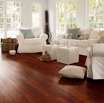Light Wood Floors With The Dark Cabinets Description From Uk