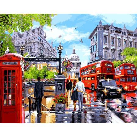 Картина по номерам Вечерний Лондон, Babylon, VPS1242 ...