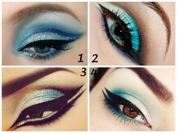 Blue Beauty #makeup #blue #eyes