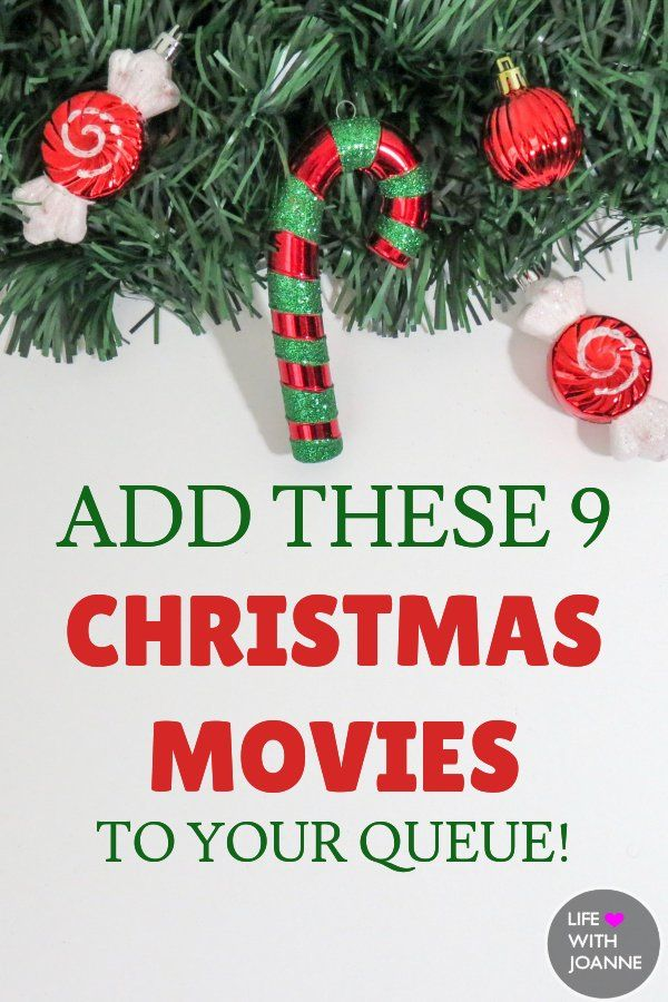 Add These 9 Christmas Movies To Your Queue #christmasmovies via @joannegreco