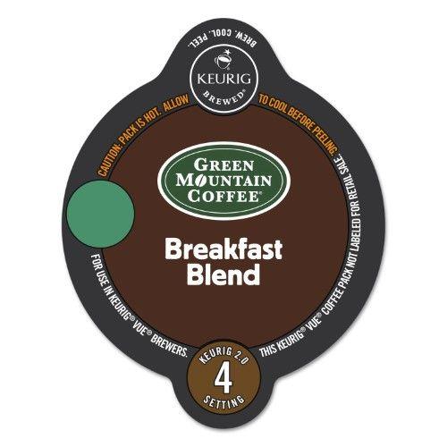 Green Mountain Coffee Breakfast Blend Coffee Vue Packs, 0