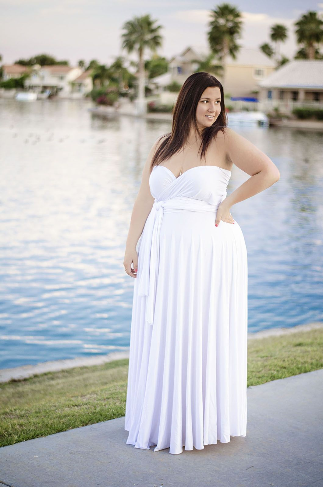 Plus Size Casual Wedding Dress Frodofullring
