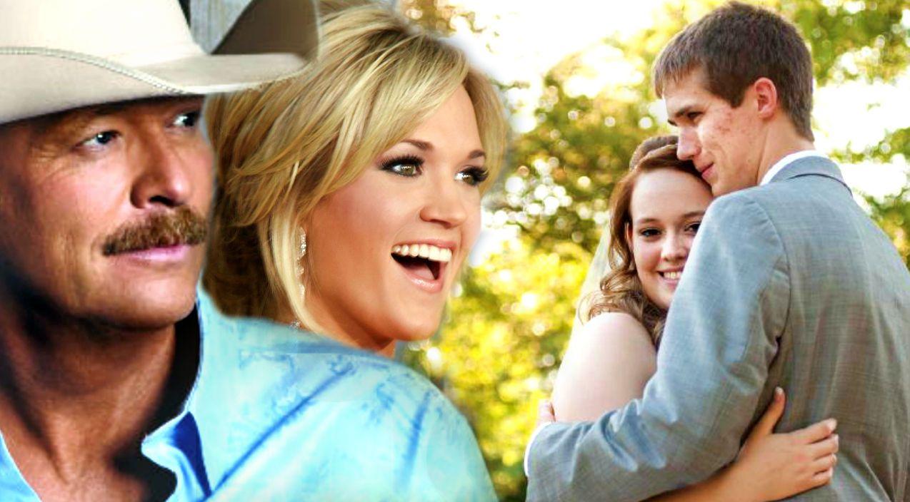 Bride Sings Alan Jackson And Carrie Underwood S Look At Me As