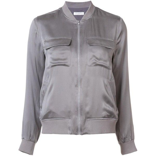 Equipment 'Abbot' bomber jacket ($515) liked on Polyvore ...