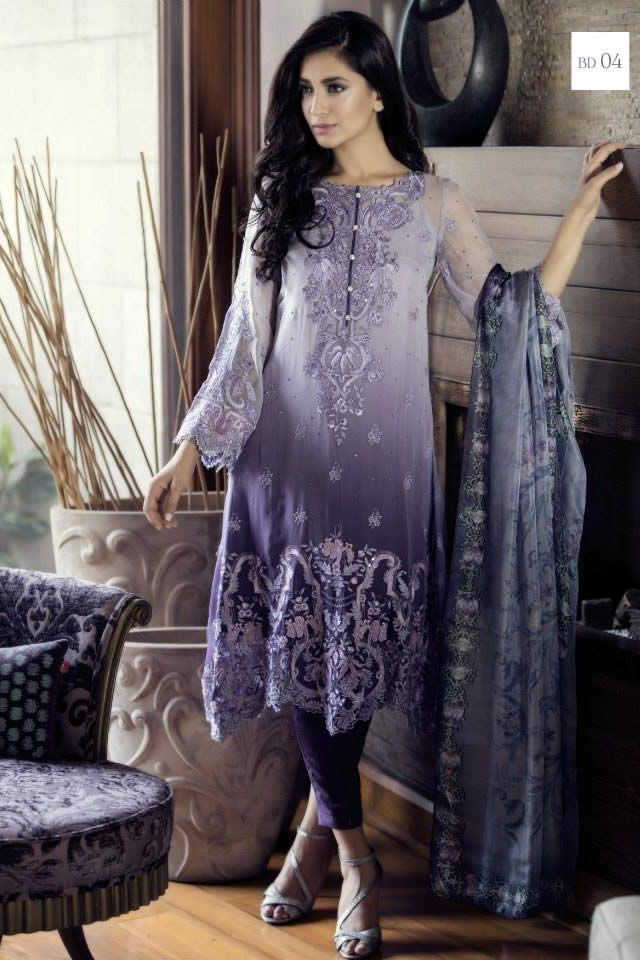 3cbbc30dbb2 Maria B Summer Mbroidered Eid Collection 2015