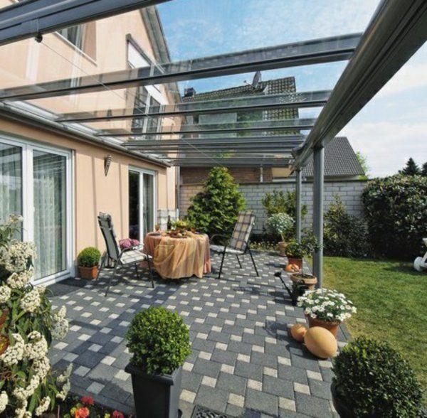 Glasdach Terrasse glasdach terrassen als hit im modernen lebensstil terrasse