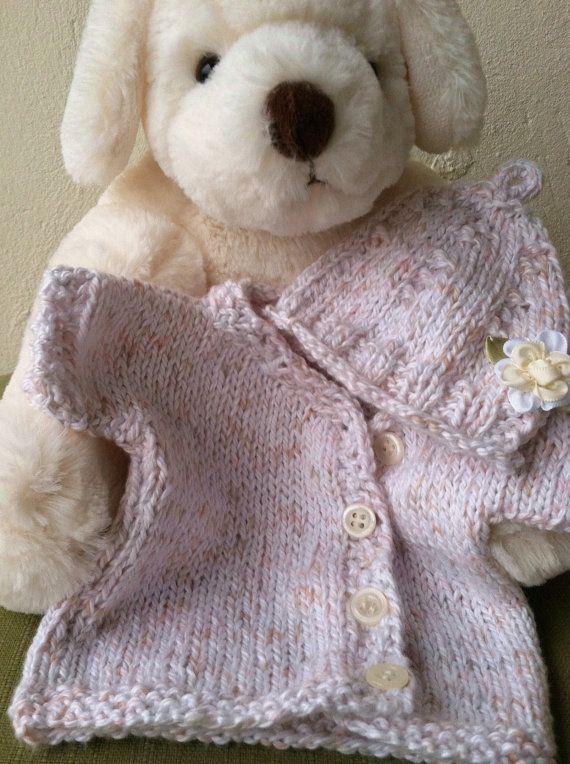 Preemie layette, knitting pattern pdf download, preemie gift ...