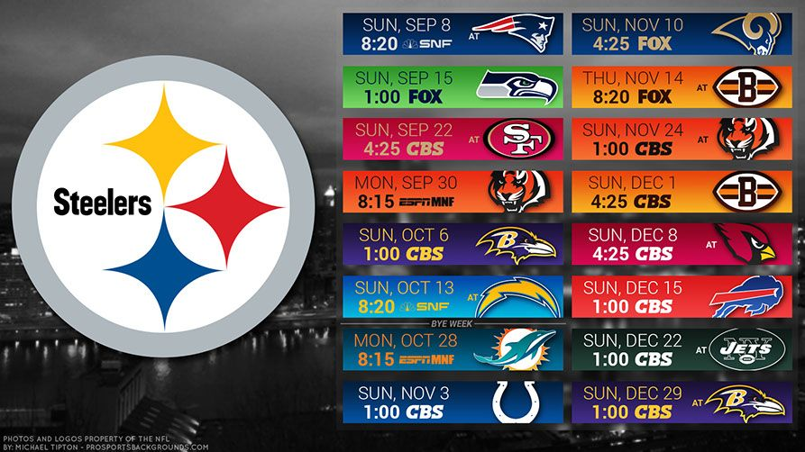 Pittsburgh Steelers 2019 Desktop Pc City Nfl Schedule Wallpaper Steelers Schedule Pittsburgh Steelers Wallpaper Pittsburgh Steelers