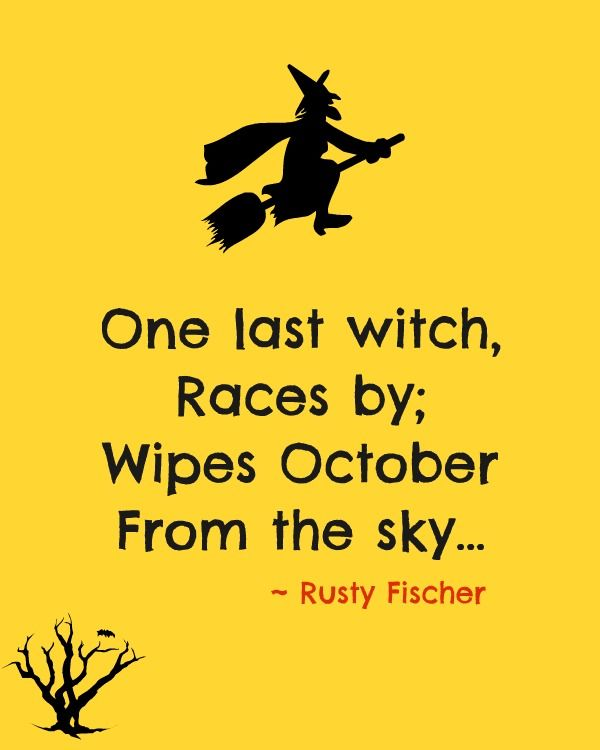One Last Witch... A Halloween Poem
