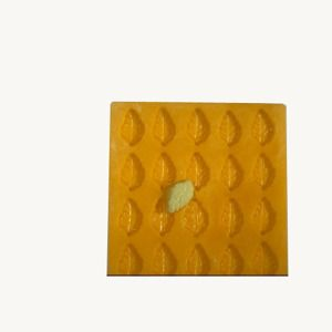 Flex Mold Leaf 25 Cavities Wedding Mint Molds Mint Molds Molding