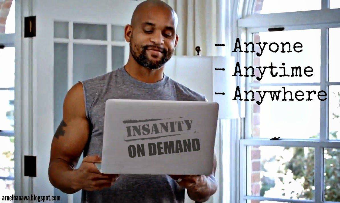 Insanity Max 30 Cardio Challenge Workout + Insanity on