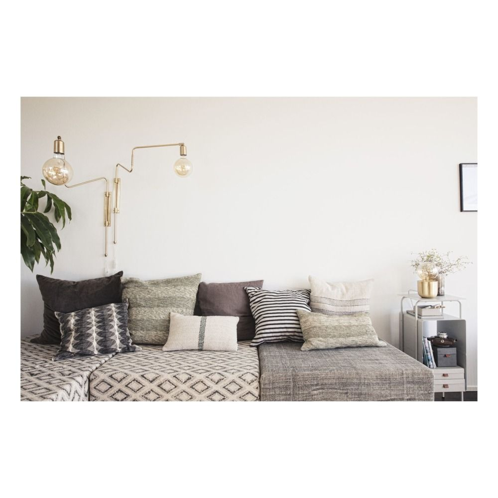 Applique Murale Swing En Laiton Dore House Doctor Home Living Room Decor Interior Design