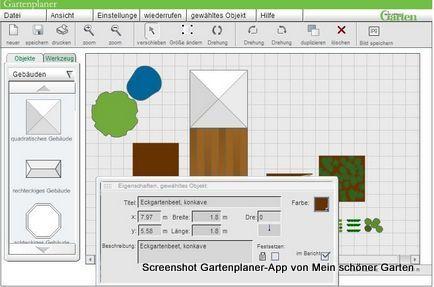 Perfekt Screenshot Aus Der Gartenplaner App Von Mein Schöner Garten