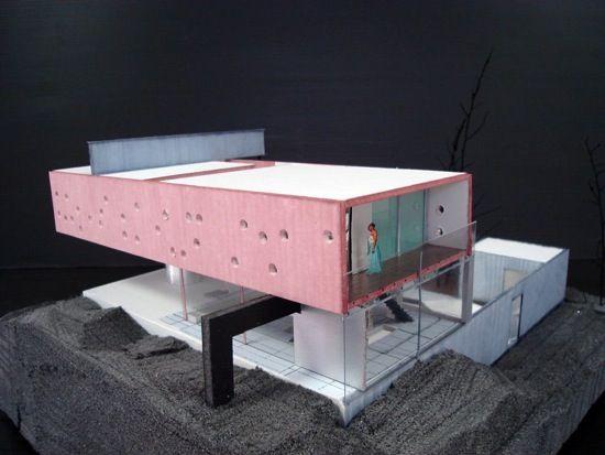 maison bordeaux rem koolhaas maquette 3 visionary sketch pinterest rem koolhaas. Black Bedroom Furniture Sets. Home Design Ideas