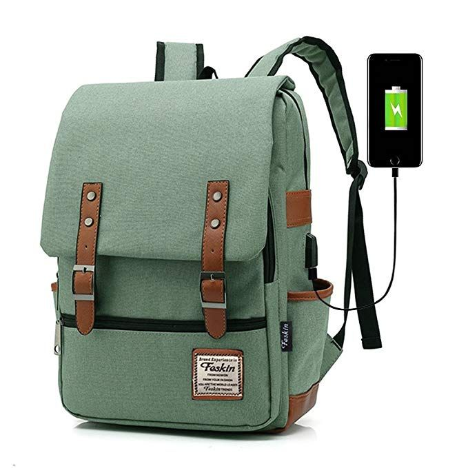 e7b84aa68c Professional Laptop Backpack with USB Charging Port