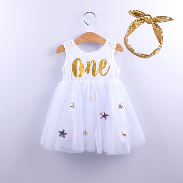 Baby Girls Clothes Birthday Party Dress for 12M-24M #babygirlpartydresses
