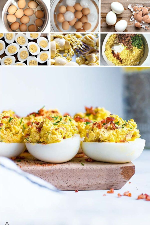Make these keto deviled eggs for quick and easy, protein ... (600 x 900 Pixel)
