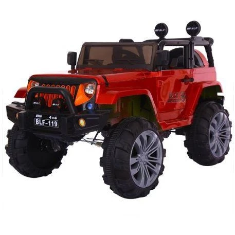 Kids 12v Electric Battery Ride On Electric Jeep Building For