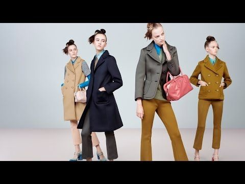 Prada – ADV images A/W 2015 - in the style of luxury
