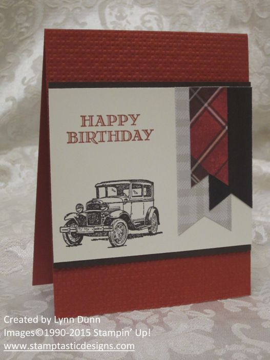 Guy Greetings Birthday Card Stampinup Masculine Cards Masculine
