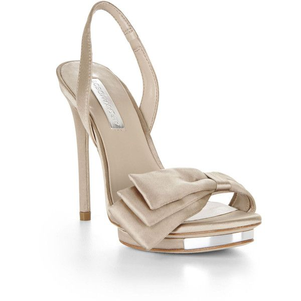 2d8e6bdfe BCBGMAXAZRIA Lavi Bow Sling-Back High-Heel Shoe ( 89) ❤ liked on ...