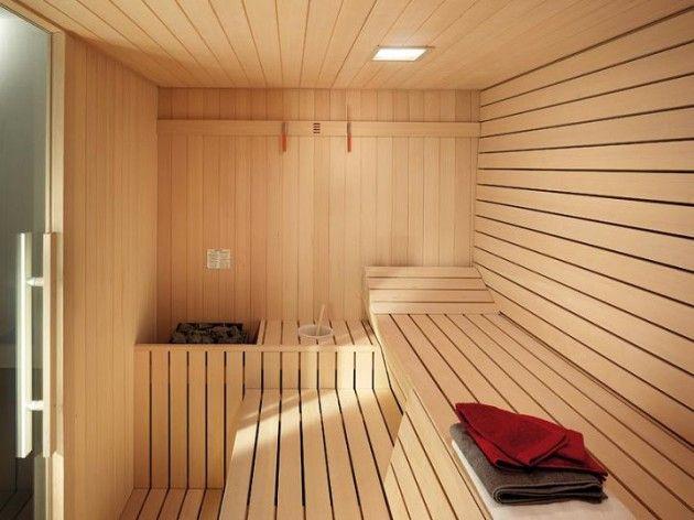 Interior Of An Excellent Sauna 630x472 Sauna Design Spa Massage Room Hot Tubs Saunas