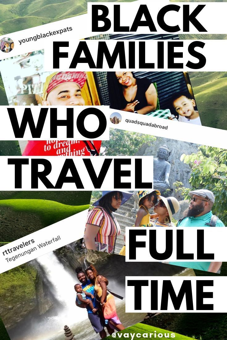 Black families who travel full time african american