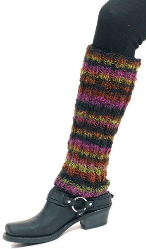 Free Knitting Pattern - Legwarmers: Deux