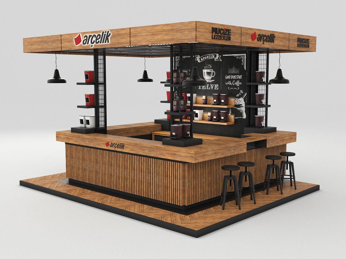ISTANBUL COFFEE FESTIVAL // KIOSK DESIGN on Behance