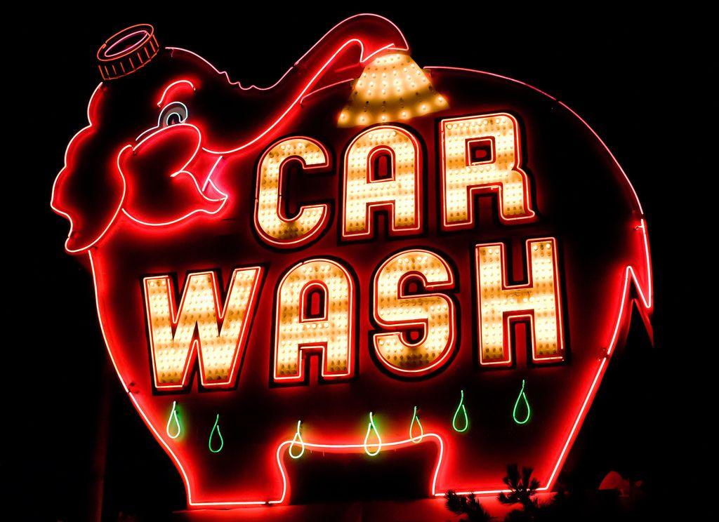 Elephant super car wash elephant car car wash neon signs