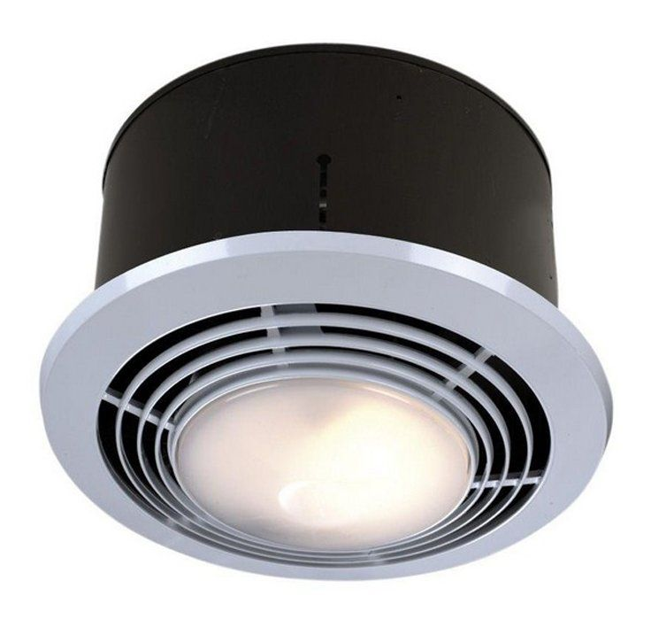 70 Cfm Bathroom Fan With Heater And Light Bathroom Fan Light Exhaust Fan Light Bathroom
