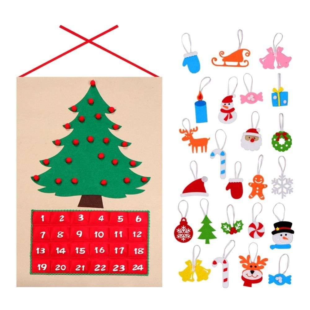 1 Year Countdown Calendar in 2020 Christmas tree advent