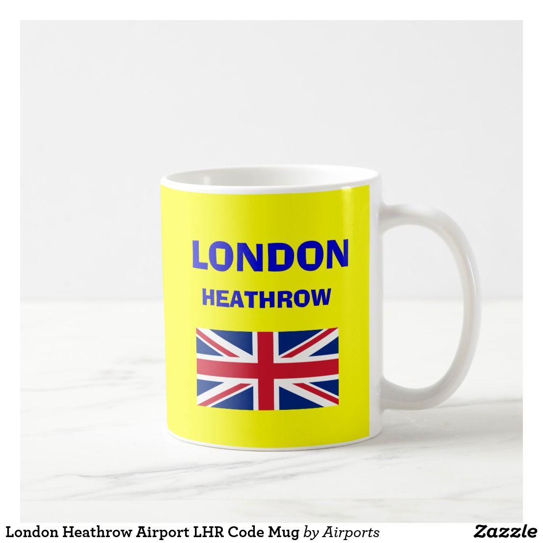 London Heathrow Airport LHR Code Mug   Zazzle.com ...