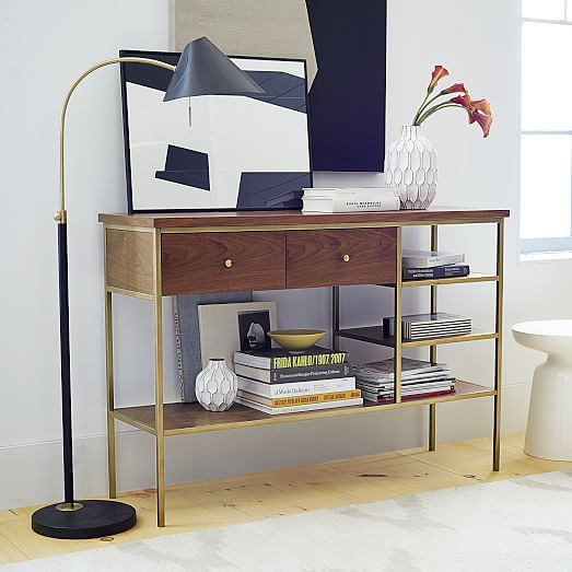 Amazing West Elm Nook Console  Styling
