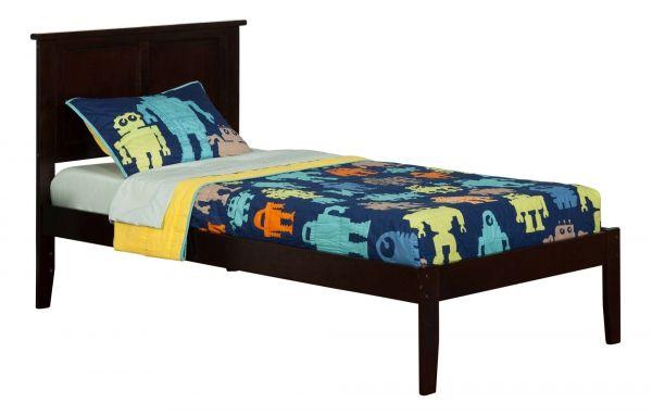 Best Atlantic Furniture Madison Espresso Twin Xl Bed Atlantic 400 x 300