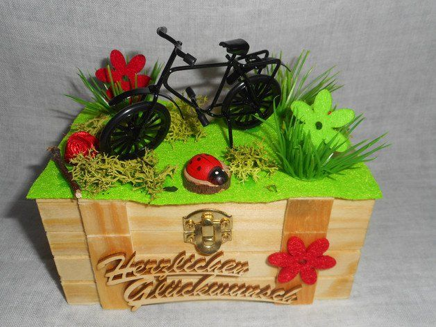 geschenke f r frauen geschenkbox geldgeschenk fahrrad radtour radsport ein designerst ck von. Black Bedroom Furniture Sets. Home Design Ideas
