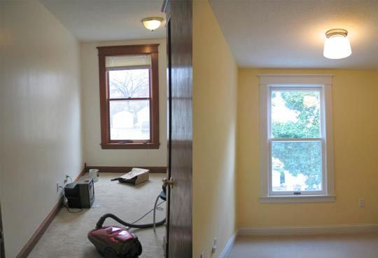 Painting Oak Trim White Before And After Google Search