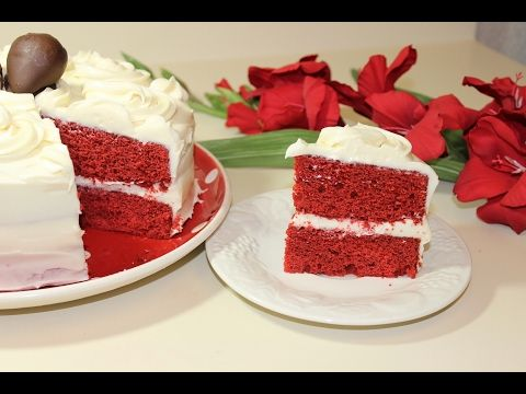 Red Velvet Cake With Cream Cheese Frosting Malayalam Valentine