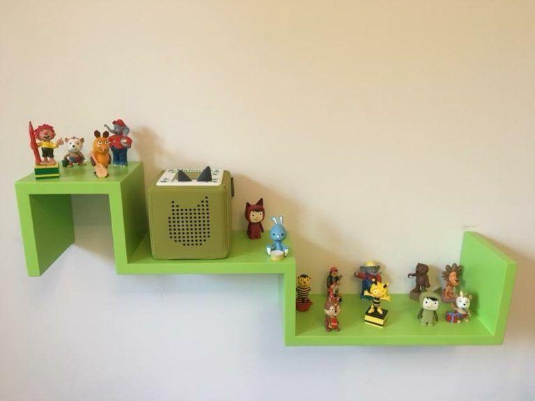 Zubehör für die Toniebox: Toniebox Regal für Box und die Tonie Figuren