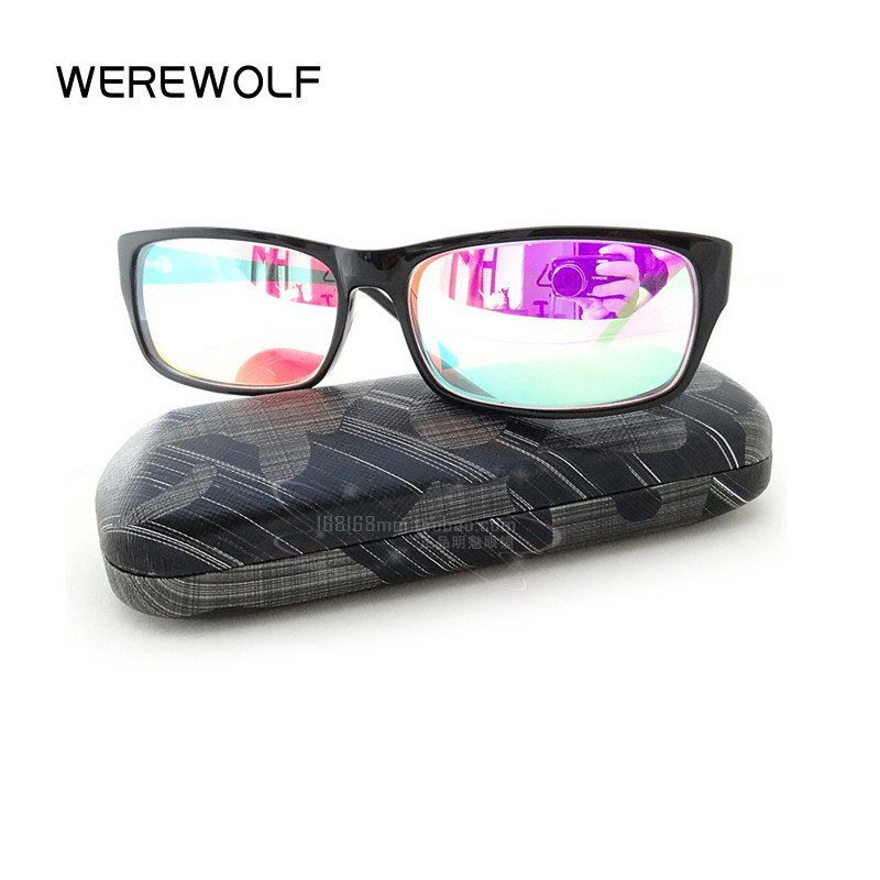 Color Blind Mirrored Glasses | Mirrored glasses, Color blind glasses,  Glasses