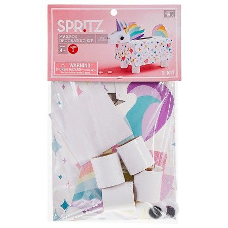 Valentineu0027s Day Mailbox Decorating Kit Unicorn   Spritz™ : Target