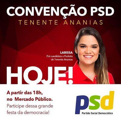 RN POLITICA EM DIA: TENENTE ANANIAS: BLOCO SITUACIONISTA PROMOVE CONVE...